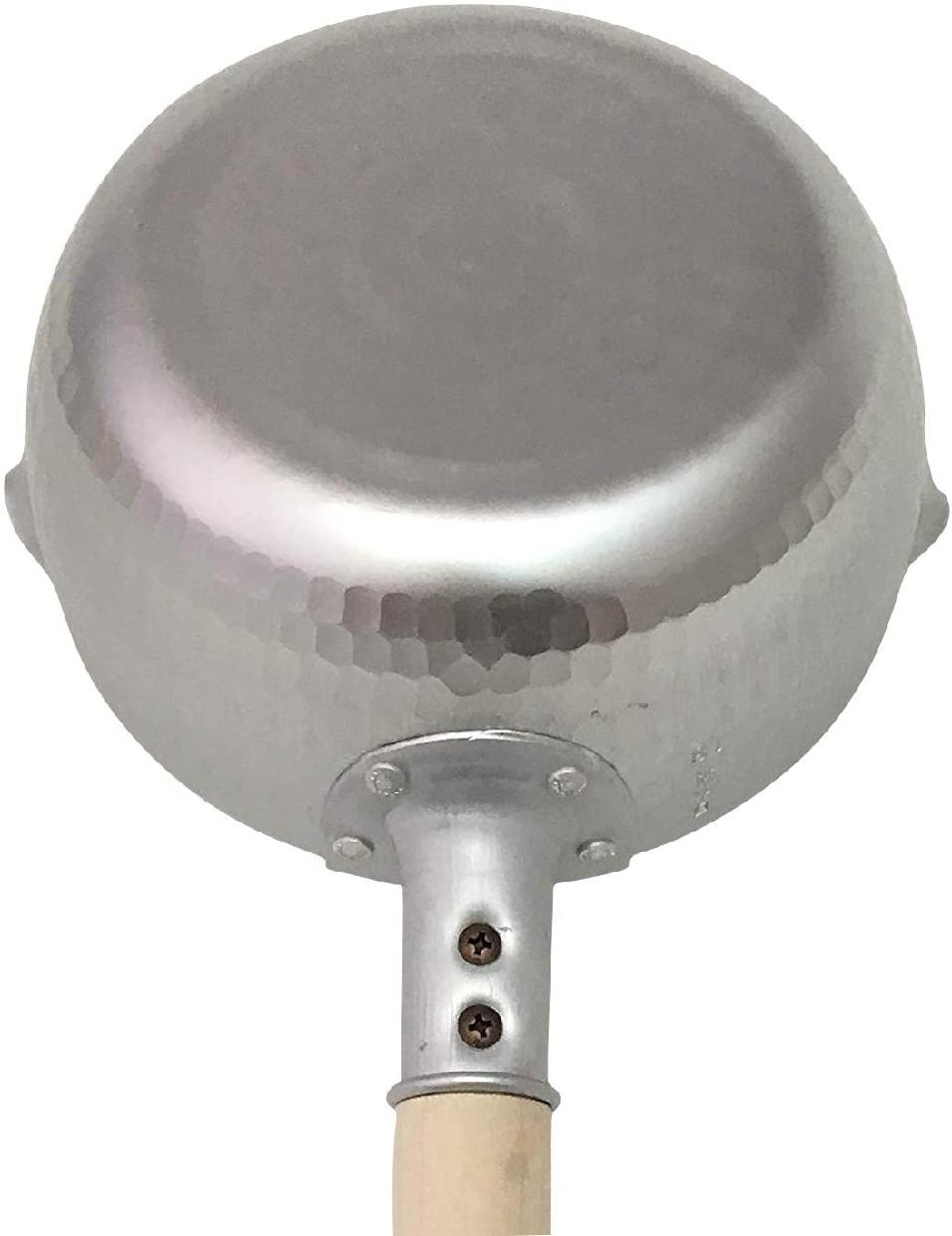 和の職人 ガス火 秀華ゆきひら鍋 深型ゆきひら鍋 18cm シルバーの商品画像6