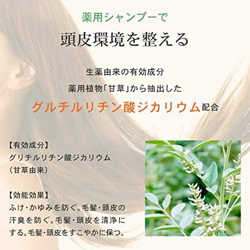 爽快柑(Sou Kai Kan) 薬用アミノ酸シャンプーの商品画像5