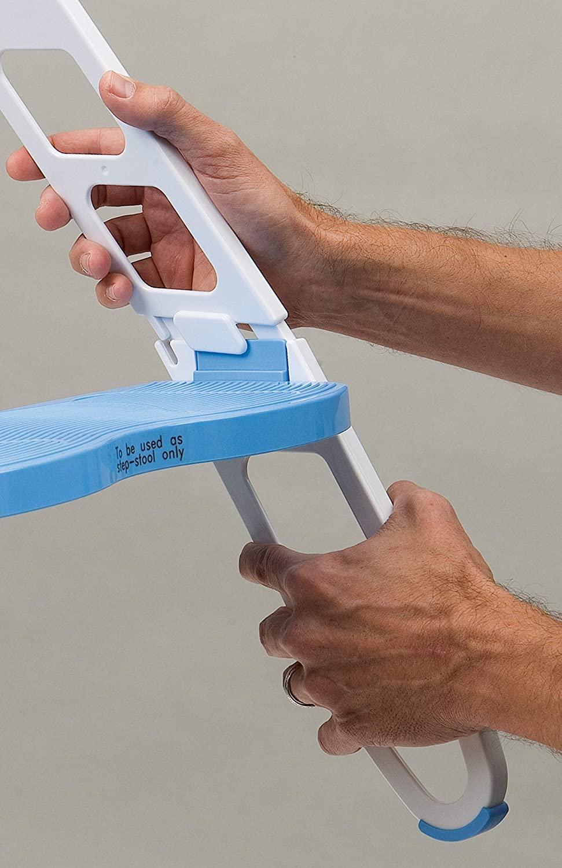 MOMMY'S HELPER(マミーズヘルパー) トイレトレーニング 補助便座 ステップ付 (折りたたみ式)の商品画像6