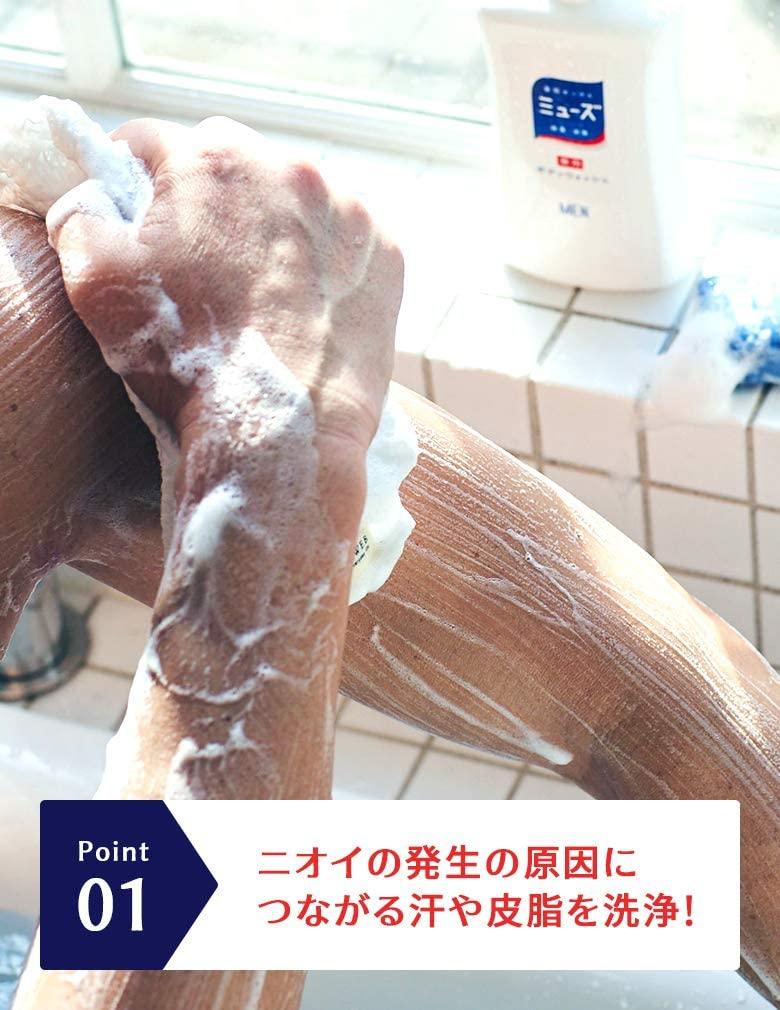 MUSE(ミューズメン) ボディ用 石鹸の商品画像2