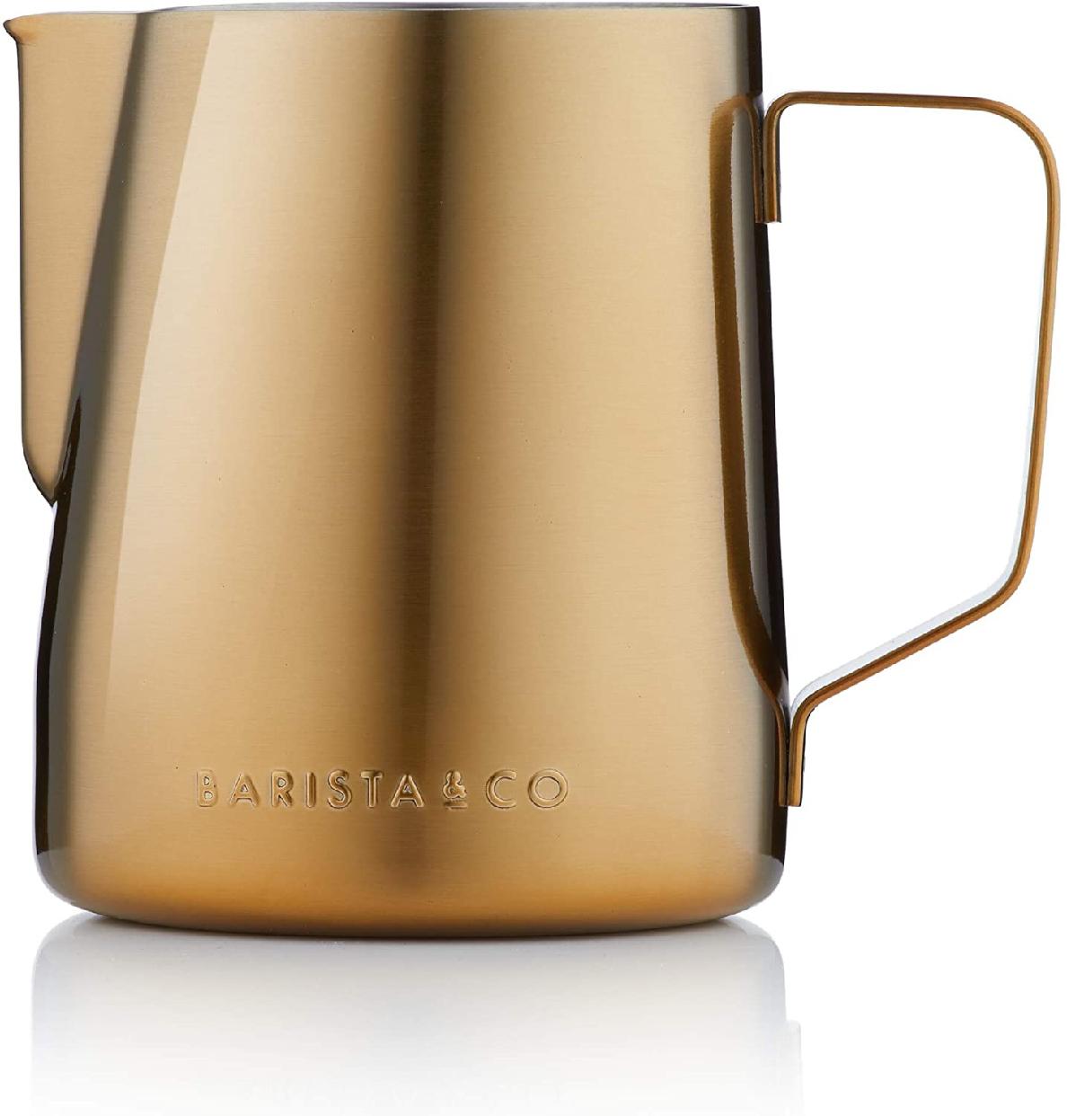 Barista&Co(バリスタアンドコー)Core Milk Jug 600ml Goldの商品画像