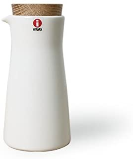 iittala(イッタラ) ティーマ 18496 ミルクピッチャー 200ml コルク蓋(ふた)付き ホワイトの商品画像