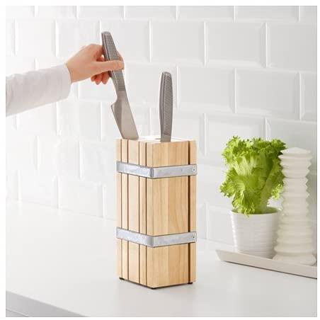 IKEA(イケア) レトレット RETRATT ナイフ立て ブラウンの商品画像2