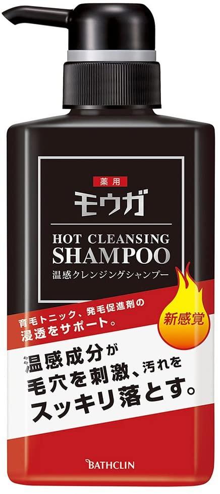 モウガ 薬用温感クレンジングシャンプーの商品画像