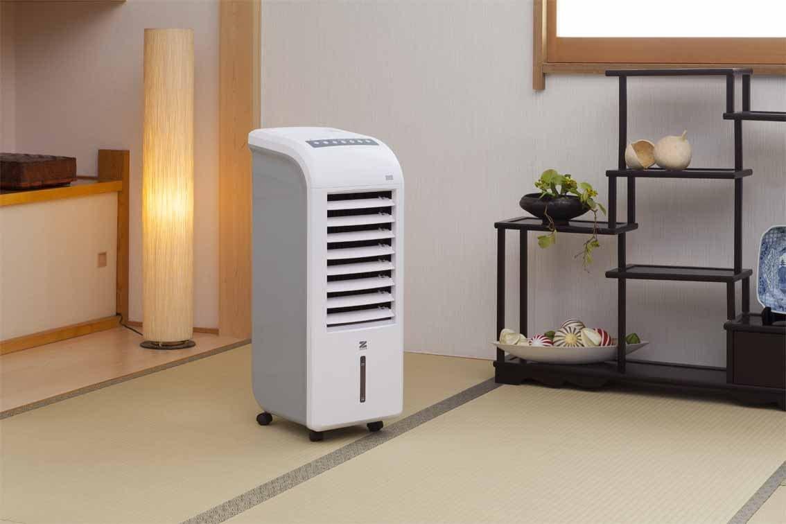 ゼンケン スリム温冷風扇 ヒート&クール ZHC-1200の商品画像3