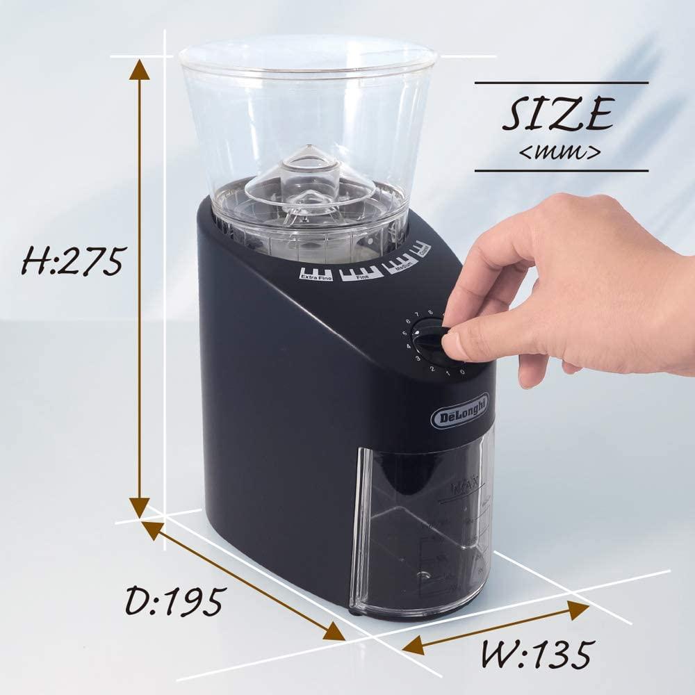 De'Longhi(デロンギ) コーン式コーヒーグラインダー KG364Jの商品画像5