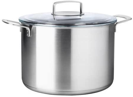 IKEA 365+(イケア 365プラス)スープ鍋 ふた付 シルバー 102.567.45の商品画像