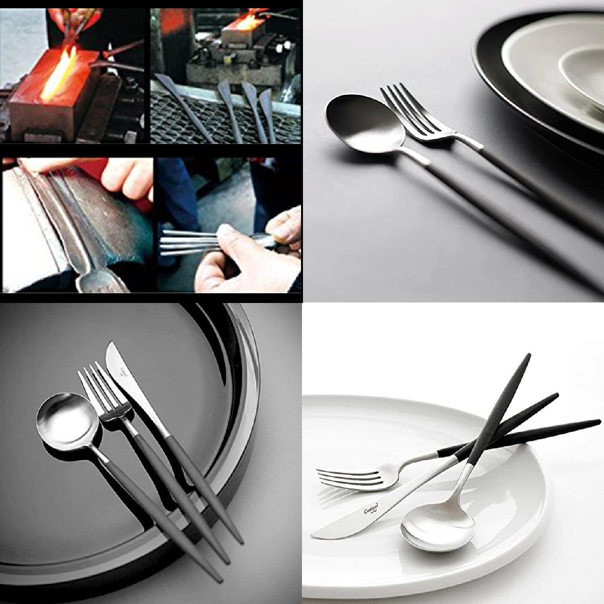 Cutipol(クチポール)GOA/ゴア バターナイフ シルバー×ブラック GO25の商品画像2