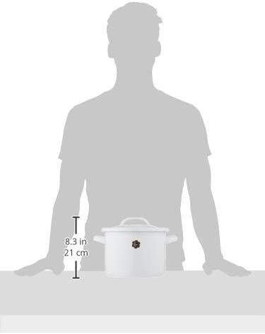 月兎印(ツキウサギジルシ)シチューポット 21cm ホワイトの商品画像9