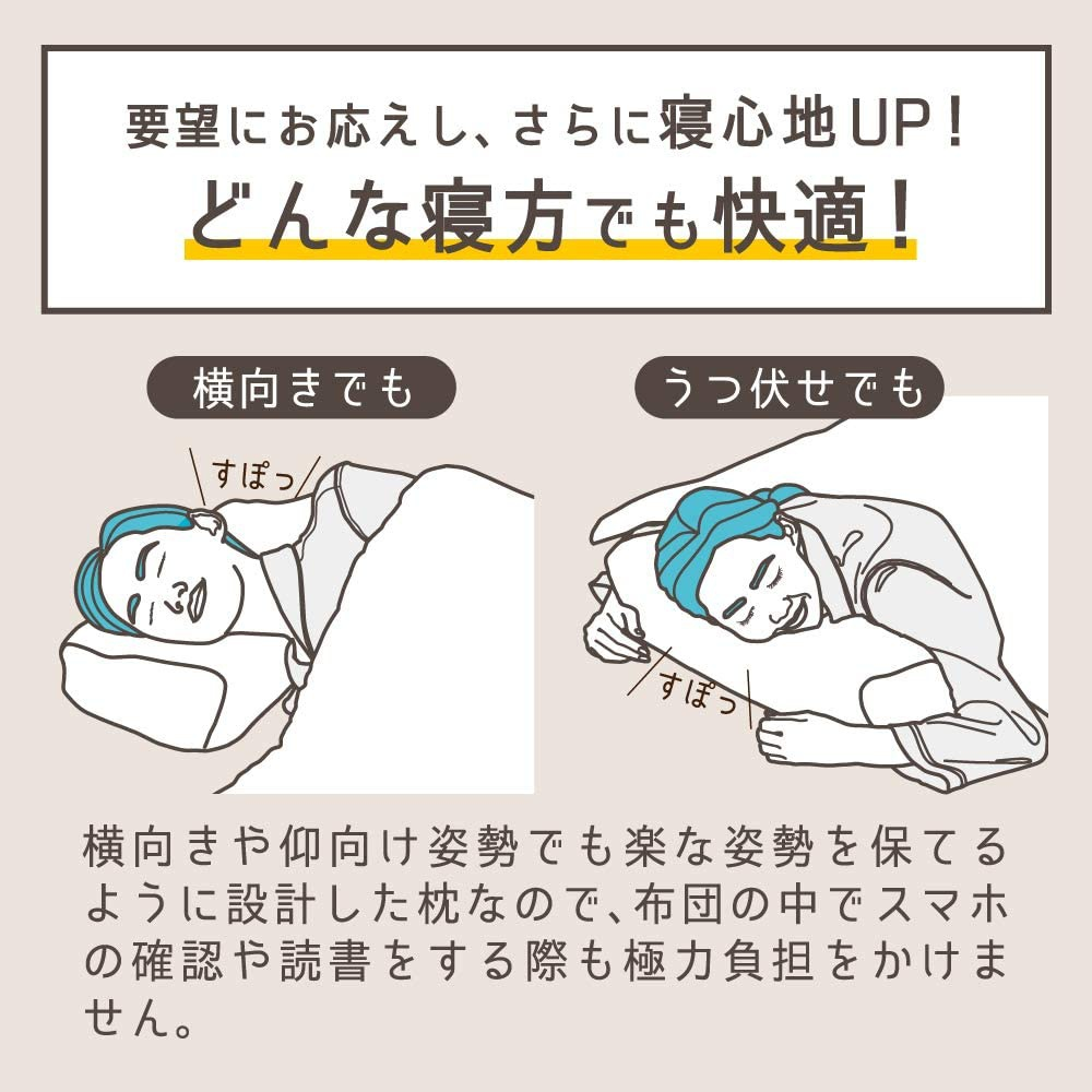 Nelture(ネルチャー) スージーAS快眠枕2の商品画像9