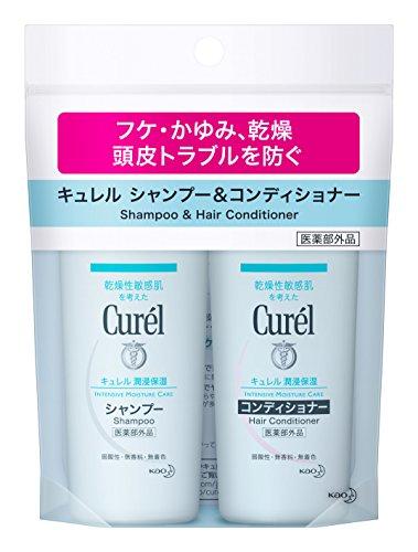 Curél(キュレル) シャンプー&コンディショナー ミニセットの商品画像