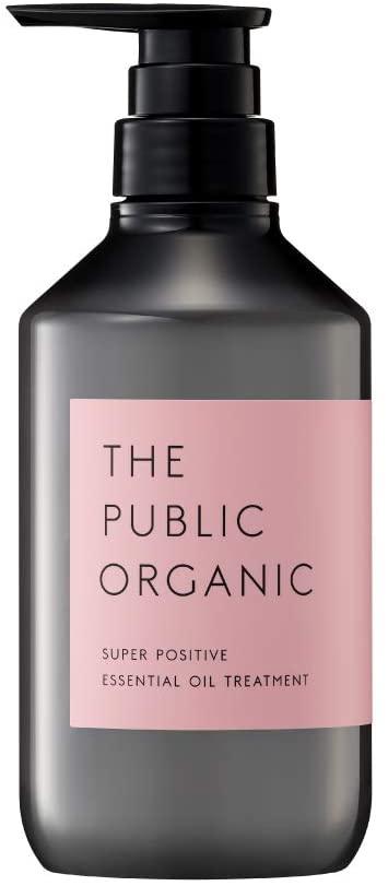 THE PUBLIC ORGANIC(ザ パブリック オーガニック) スーパーポジティブ 精油トリートメント