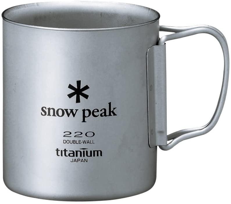 snow peak(スノーピーク) チタンダブルマグ  MG-053Rの商品画像