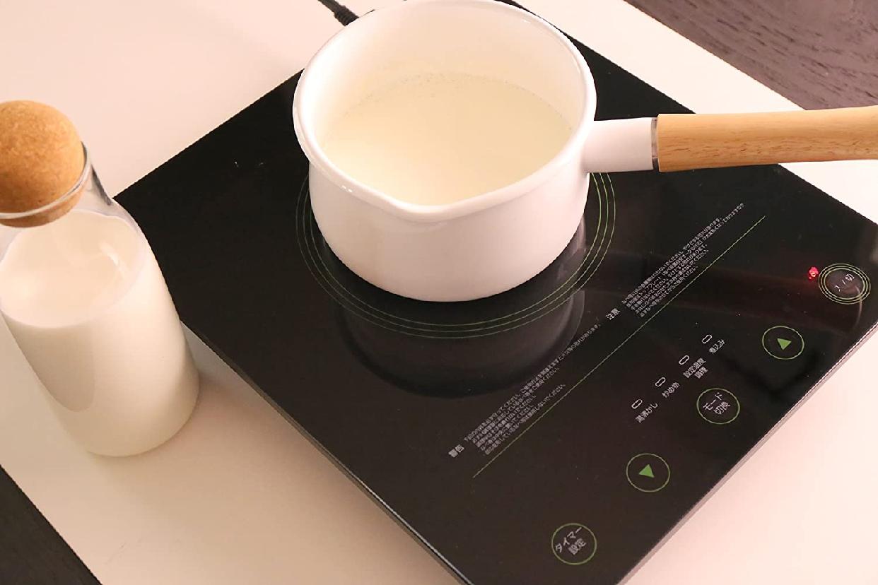 富士ホーロー(フジホーロー)ミルクパン 15cm ホワイトの商品画像5