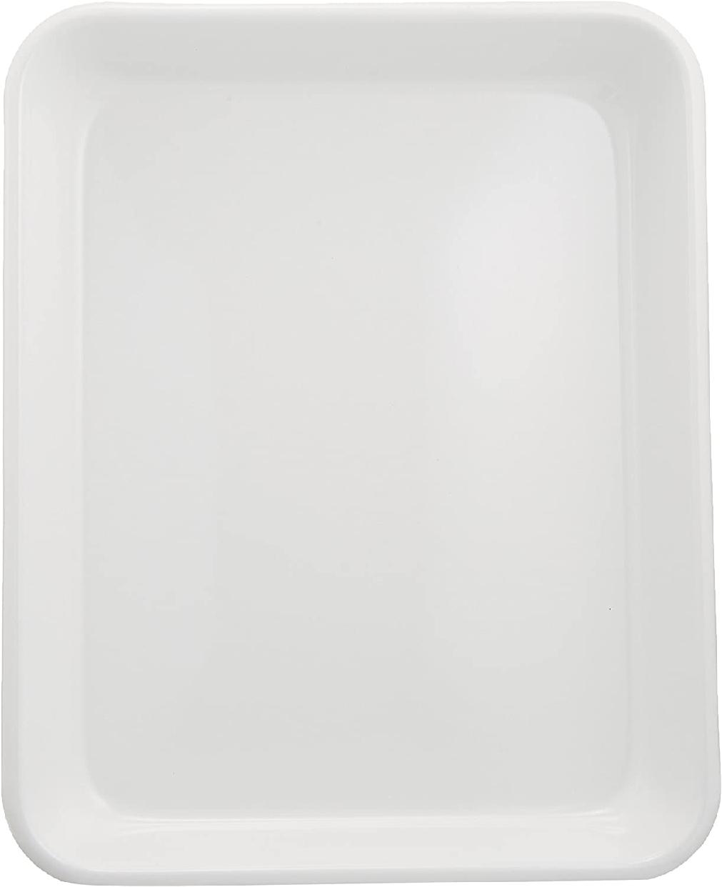 野田琺瑯(のだほうろう)バット(全白) 18取 VA-18W ホワイトの商品画像