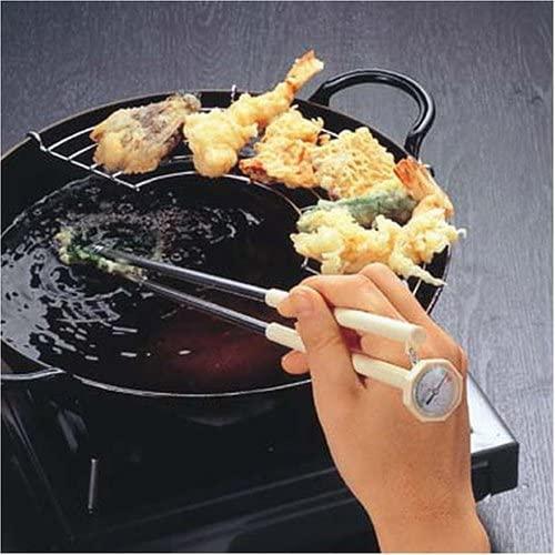パール金属(PEARL) 天ぷら フライ用 はし 油温度計付  35cm C-3505の商品画像2