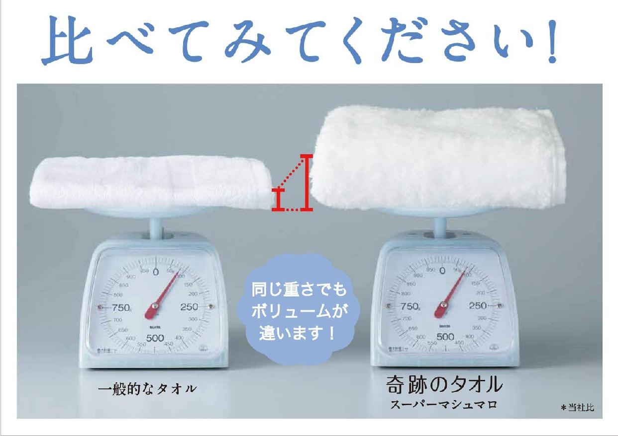 UCHINO(ウチノ) スーパーマシュマロ バスタオル 奇跡のタオルの商品画像3