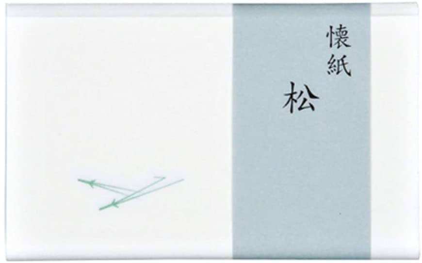 こころ懐紙本舗(ココロカイシホンポ) 松 女性用サイズ 30枚の商品画像