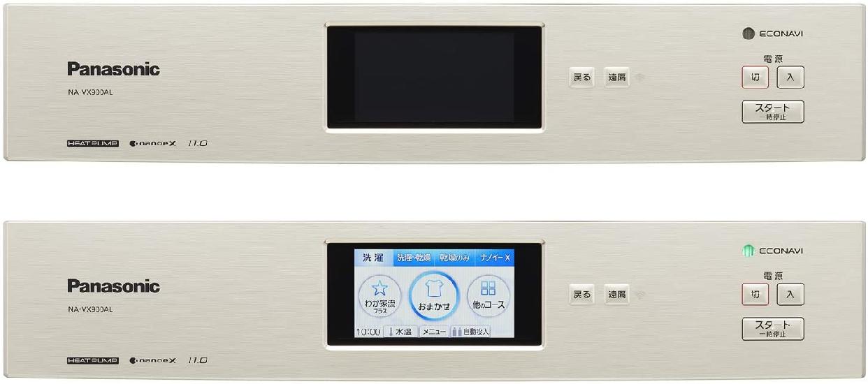 Panasonic(パナソニック) ななめドラム洗濯乾燥機 NA-VX900AL/Rの商品画像3
