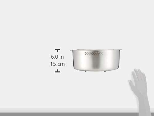 貝印(KAI) 洗い桶 D型 脚高ゴム付 DZ1141 ステンレスの商品画像8