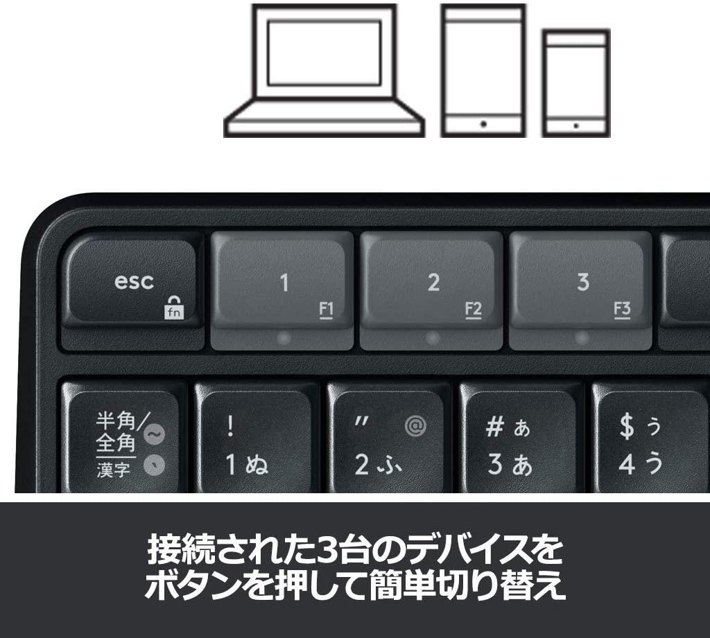 logicool(ロジクール) ワイヤレスキーボード K375sの商品画像4
