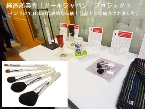 宮尾(Miyao) 熊野筆ホワイトパール・メイクブラシ5本セットの商品画像7