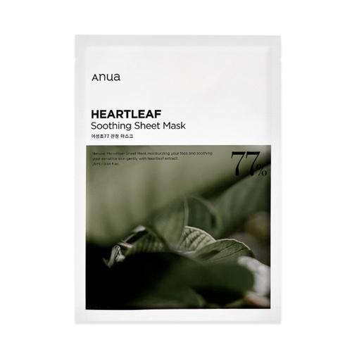 Anua(アヌア) ハートリーフ77%スージングシートマスク