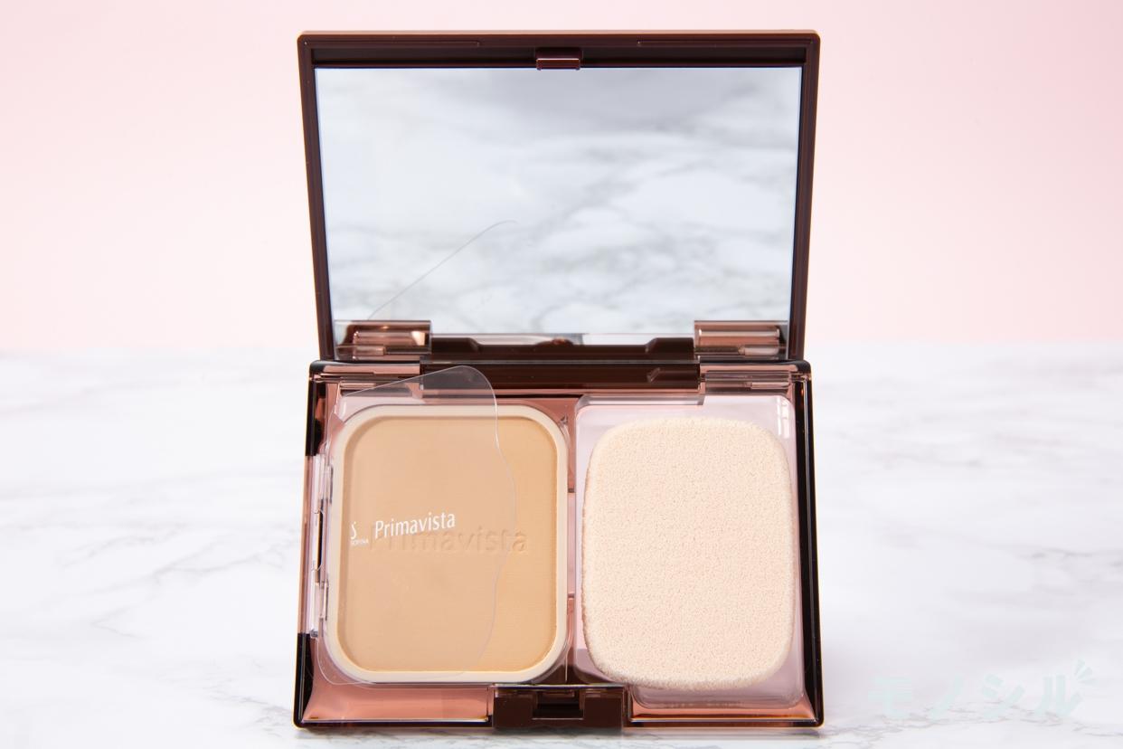 SOFINA Primavista(ソフィーナ プリマヴィスタ) きれいな素肌質感 パウダーファンデーションの商品画像2 商品のふたを開けて撮影した画像