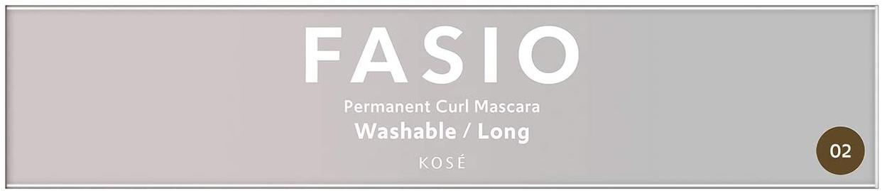 FASIO(ファシオ) パーマネント カール マスカラ F(ロング)の商品画像2