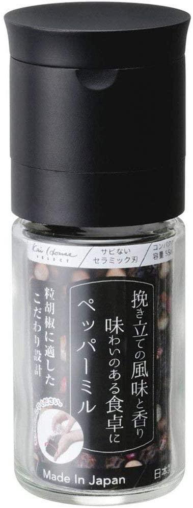 貝印(かいじるし)ペッパーミルの商品画像2