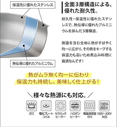 リザーブ ストックポット 24cmの商品画像4