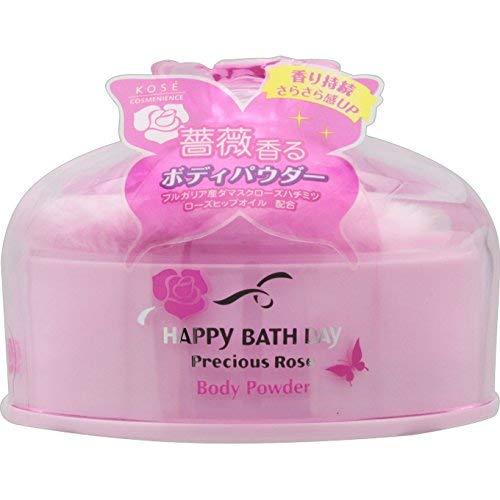 HAPPY BATH DAY Precious Rose(ハッピーバスディ プレシャスローズ) ボディパウダー Nの商品画像