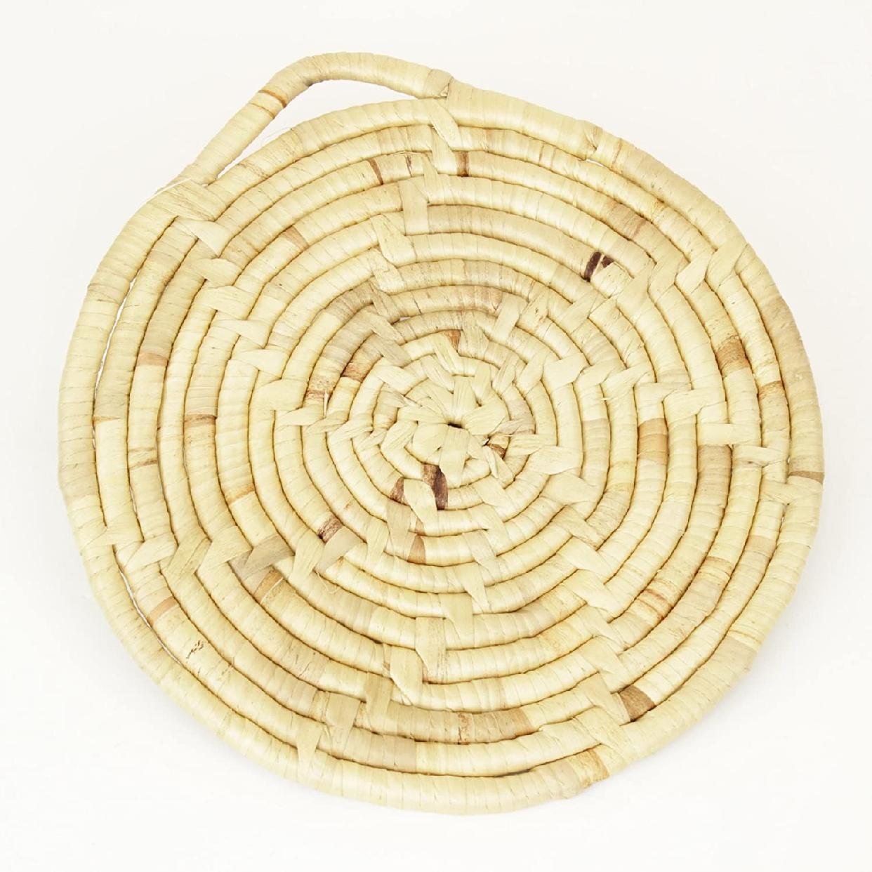松野屋 水草鍋敷き大 ナチュラル 20-1337の商品画像