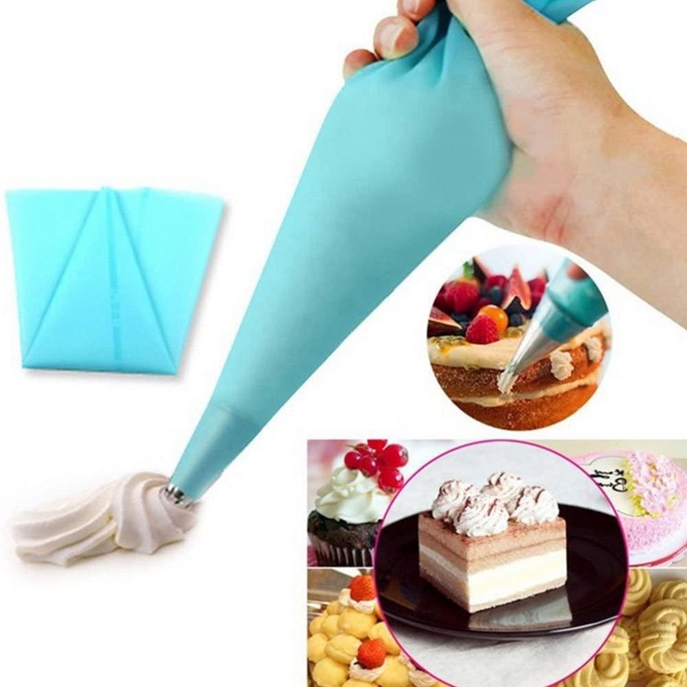 Bartram(バートラム) 絞り袋 シリコンゴム製 L号 ブルーの商品画像3
