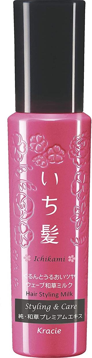 いち髪(ICHIKAMI) くるんとうるおいツヤウェーブ和草ミルク