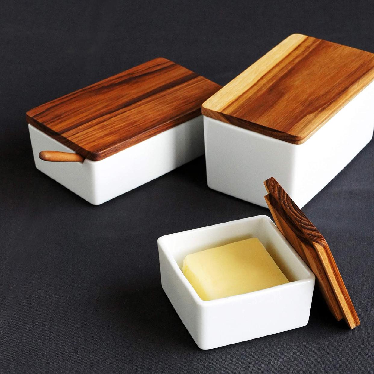 B STYLE KITCHEN(ビースタイルキッチン)木製バターケース 32401の商品画像4