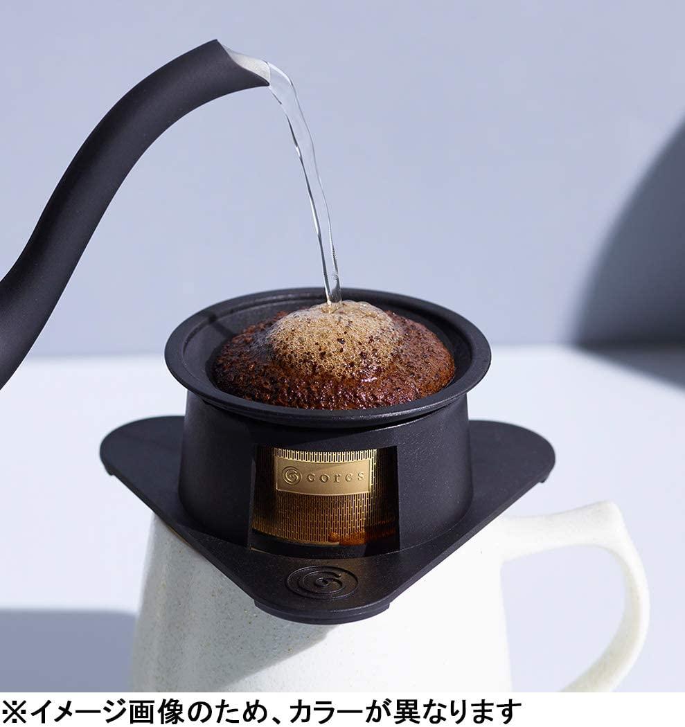 cores(コレス) シングルカップゴールドフィルター C211WH ホワイトの商品画像5