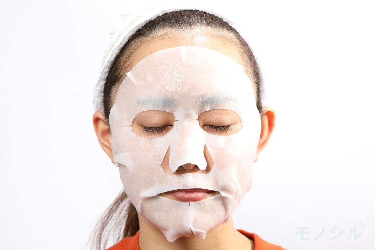 SK-II(エスケーツー) フェイシャル トリートメント マスクの実際に商品をつけた様子
