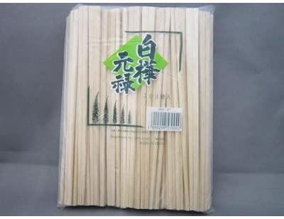 KOINS(コインズ)白樺元禄箸(8寸) 裸 100膳 20.5cm 1000067の商品画像