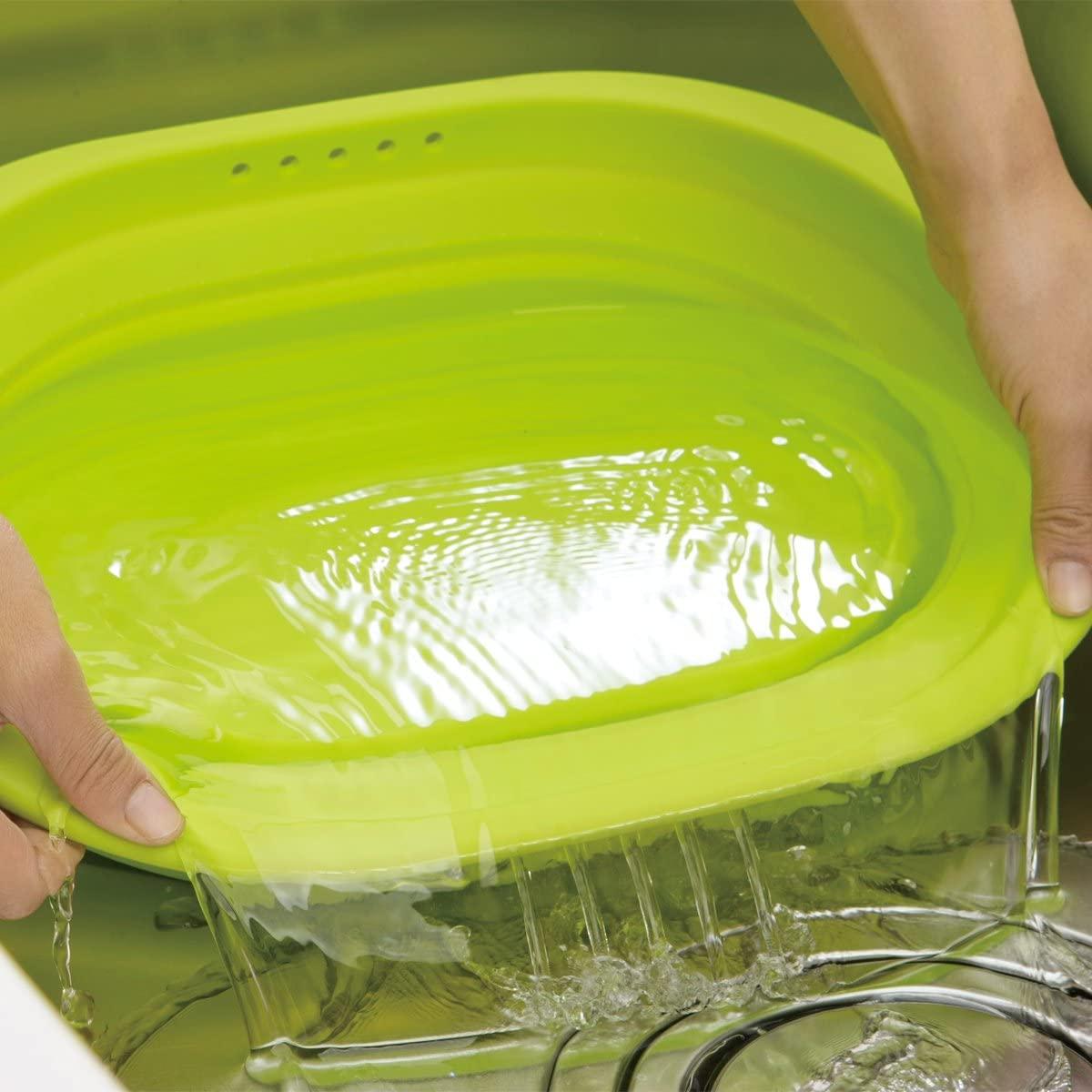 和平フレイズ(FREIZ) 洗い桶 スキッとシリコーン 。 SR-4883の商品画像3