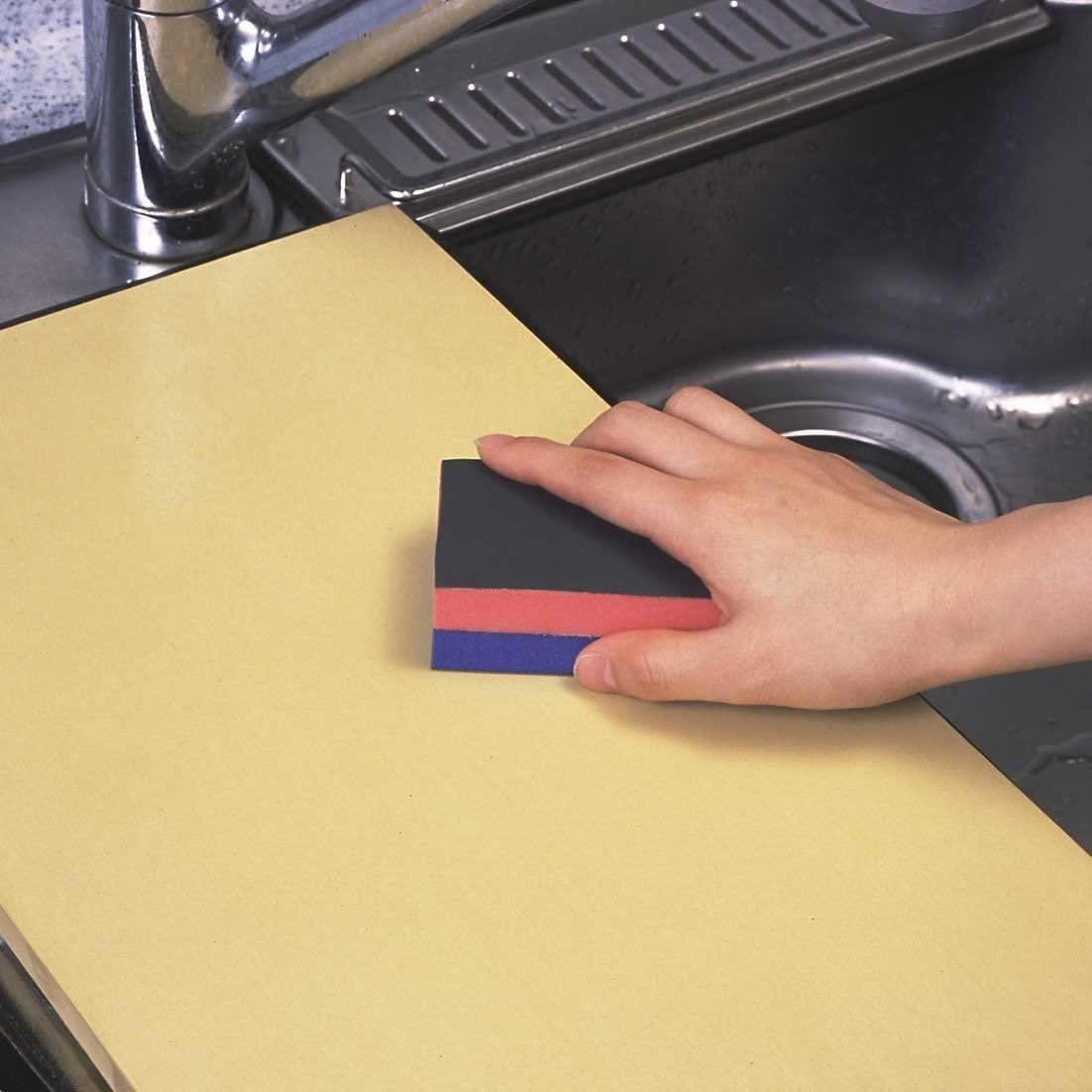アサヒクッキンカット ゴムまな板 M オレンジの商品画像10