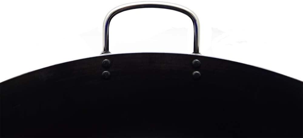 後藤金属工業(テツジン)鉄人シリーズ 「揚げ鍋」 ブラック 39cmの商品画像3