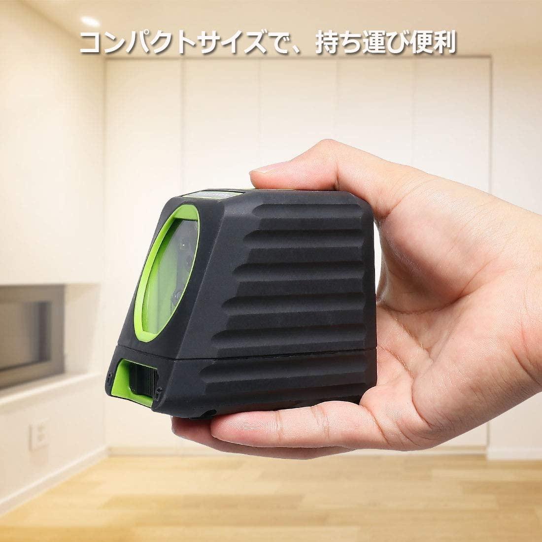 Huepar(ヒューパー) 2ライン レーザー墨出し器 M-BOX-1Rの商品画像6