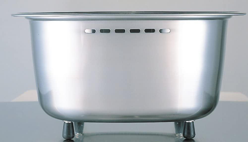 Arnest(アーネスト) 脚付 ステンレス 洗い桶 中栓付き A-75435 ステンレスの商品画像5
