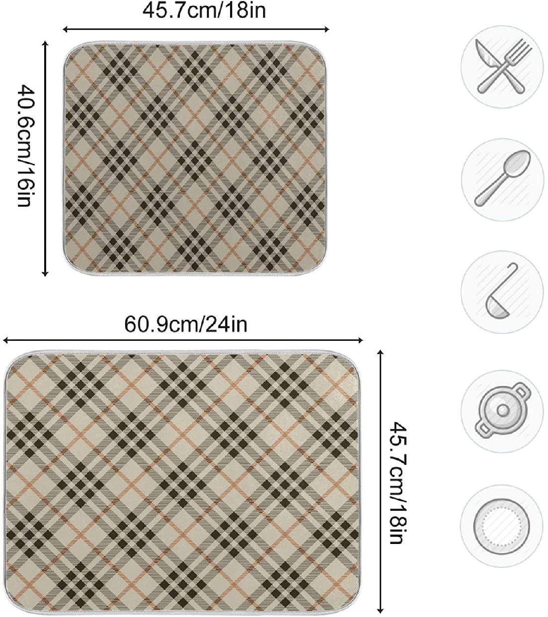 fohoo 水切りマット 41×46cmの商品画像3