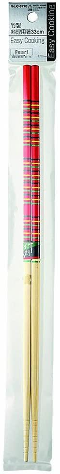 パール金属(PEARL) Easy Cooking 竹製料理用箸 33cm C-8770の商品画像2