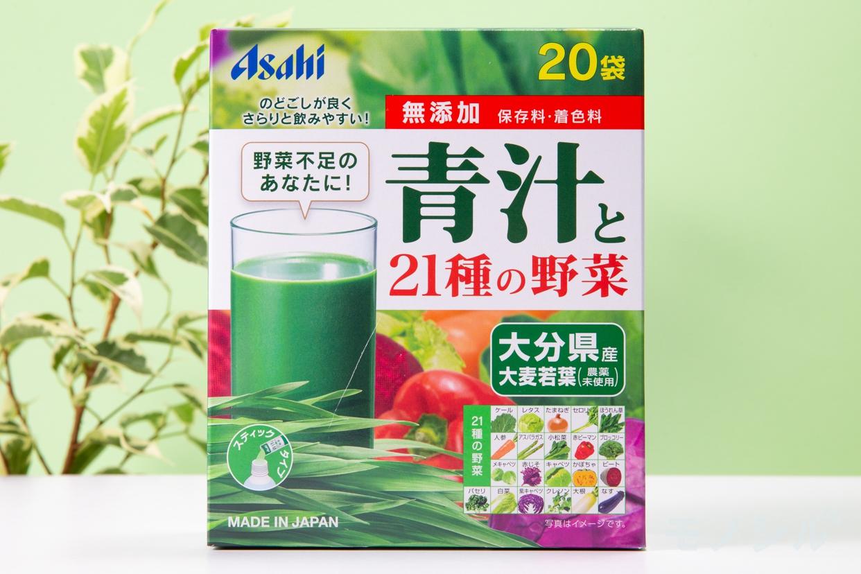 アサヒグループ食品(Asahi)青汁と21種の野菜