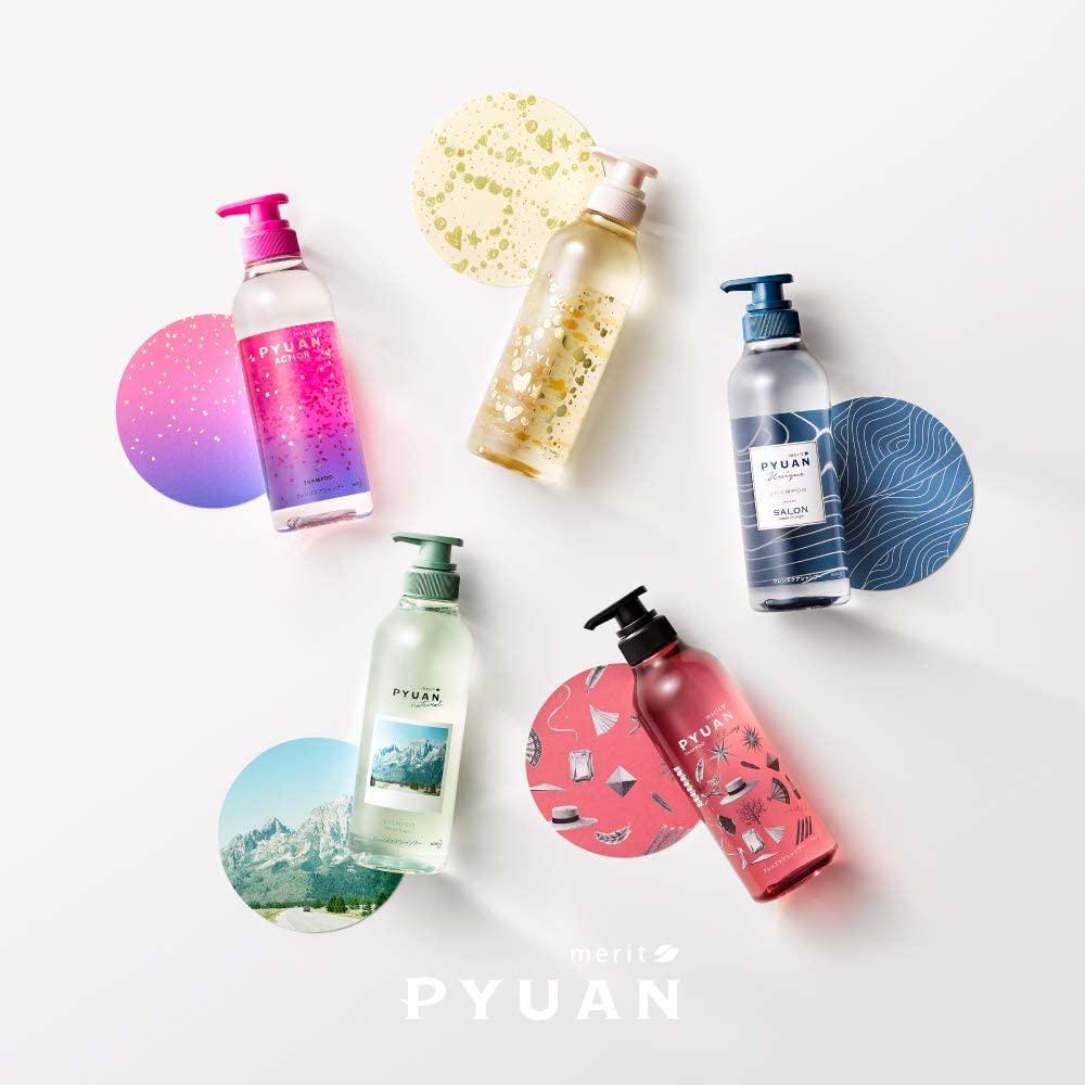 merit PYUAN(メリット ピュアン) ポンプペア シャンプー + コンディショナーの商品画像7