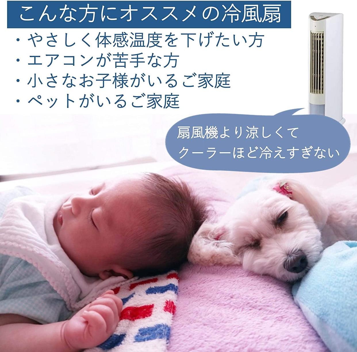 山善(YAMAZEN) 冷風扇 FCR-D405の商品画像3