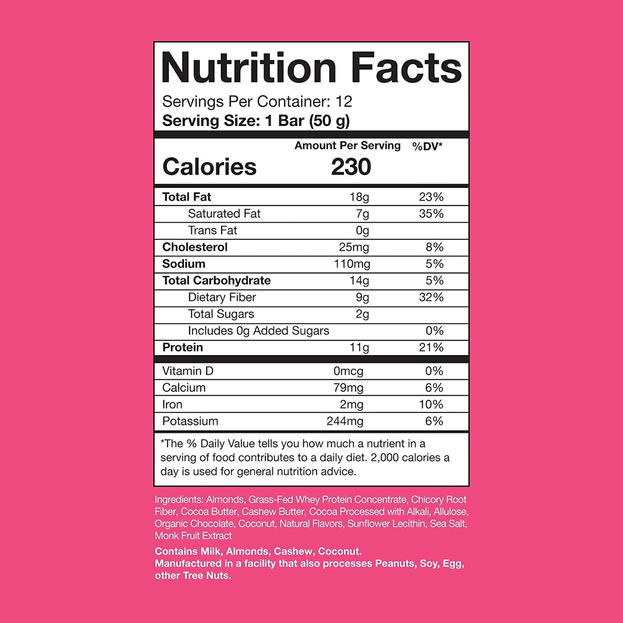 RSP Nutrition(アールエスピーニュートリション) プロテインバーの商品画像3